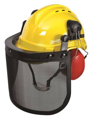 Casque de protection forestier PRO (visiere - casque - anti bruit)