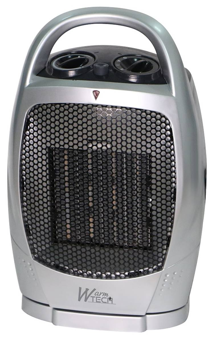 Chauffage soufflant ceramique - radiateur 17W - salle de bain