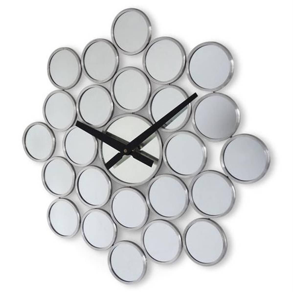 Horloge miroir design chic VIP pour déco de cuisine ou salon