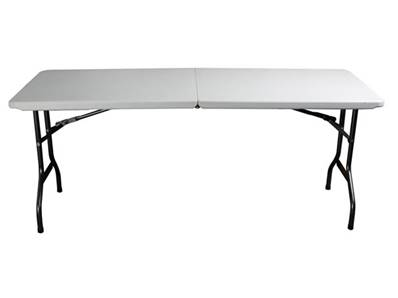 Table valise pliante 183 x 76 x 74cm