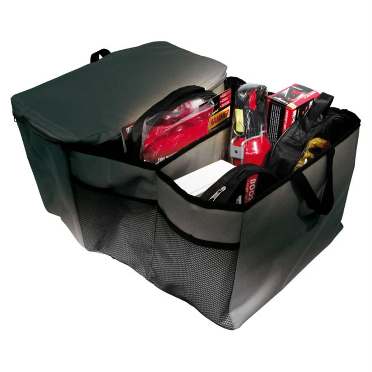 Sac de rangement pour coffre de voiture avec compartiment thermo isolé