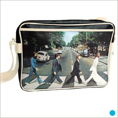 Sac besace Beatles - Abbey Road - Ivoire